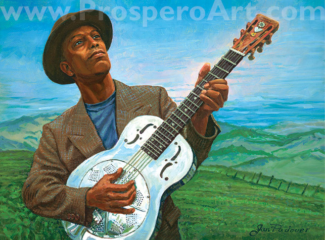 Eric Bibb & Booker's Guitar Limited Edition Print
