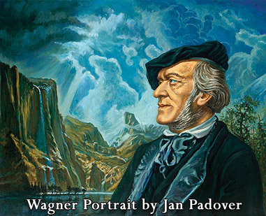 Wagner Portrait by Jan Padover
