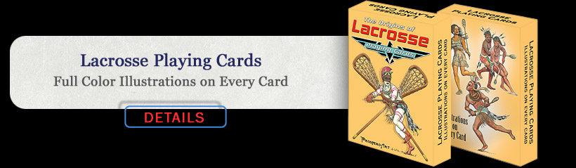 Lacrosse Playing Cards
